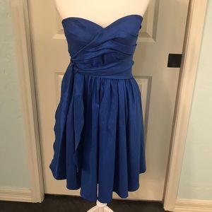 Gorgeous cobalt blue Calvin Klein dress